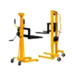 Mobile Hand Operated Winch Stacker