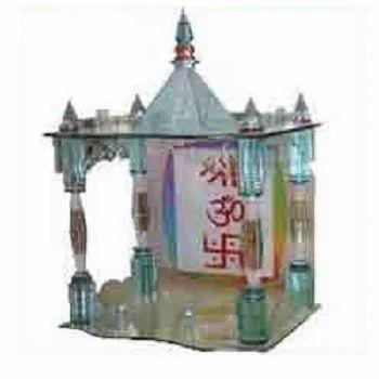 Glass Handicrafts Glass Temple Manufacturer From Delhi