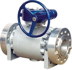 Image result for trunnion ball valve definition